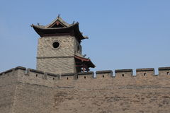 The City Wall of Pingyao Stock Image