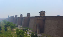 City wall of Pingyao, Shanxi province, China Stock Images