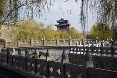 City Wall Qufu, China Royalty Free Stock Photos