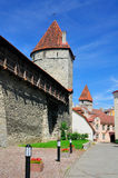 City Wall of Tallinn, Estonia Stock Image