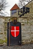 City wall in Tallinn, Estonia Royalty Free Stock Photography