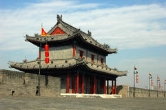 City Wall of Xi'an Royalty Free Stock Image