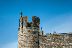 City wall of York Royalty Free Stock Images
