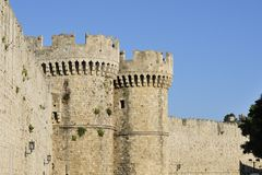 City walls Royalty Free Stock Photography