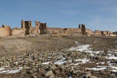 City walls of ancient Ani, Turkey Royalty Free Stock Photos