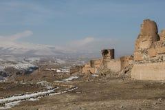 City walls of ancient Ani, Turkey Stock Image