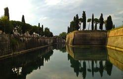 City walls. The ancient city walls of Peschiera Del Garda, Italy Photo taken on: September, 2013 royalty free stock photos