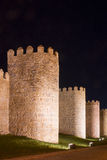 City Walls of Avila (Spain) Stock Photo