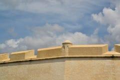 City Walls of Campeche, Yucatan, Mexico Royalty Free Stock Photography