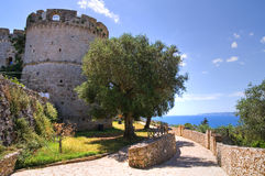 City walls. Castro. Puglia. Italy. Royalty Free Stock Image