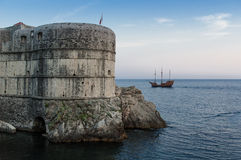 City Walls of Dubrovnik, Croatia Stock Photo