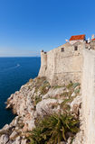 City walls of Dubrovnik, Croatia. UNESCO site Stock Photo