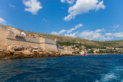 City Walls of Dubrovnik Stock Image