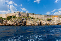 City Walls of Dubrovnik Royalty Free Stock Photography