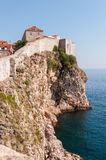 City walls of Dubrovnik Stock Photography