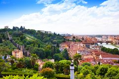 City walls in Florence Royalty Free Stock Photography