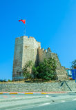 City walls Istanbul Royalty Free Stock Image