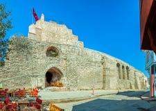 City walls Istanbul Stock Image