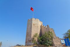 City walls Istanbul Royalty Free Stock Photography