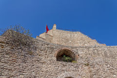 City walls Istanbul Stock Image