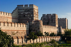 City walls of Istanbul, Turkey Stock Photos