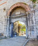 City walls Istanbul Royalty Free Stock Images