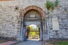 City walls Istanbul Royalty Free Stock Photo