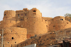 City walls of Jaisalmer Stock Image