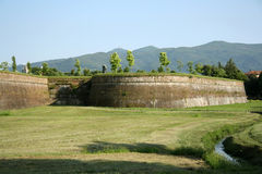 City walls of Lucca (Tuscany, Italy) Stock Photos
