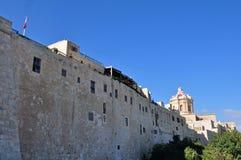 City walls at Mdina, Malta 2 Royalty Free Stock Photography