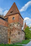 City walls of Nuremberg, Germany Royalty Free Stock Images