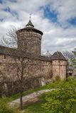 City walls of Nuremberg, Germany Stock Images
