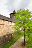 City walls of Nuremberg Stock Photos