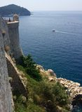 City walls. Old city walls of Dubrovnik, Croatia Stock Photos