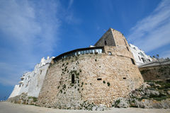 City Walls of Ostuni, Puglia, Italy Royalty Free Stock Image