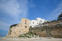City Walls of Ostuni, Puglia, Italy Royalty Free Stock Photo