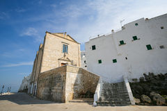 City Walls of Ostuni, Puglia, Italy Royalty Free Stock Photos