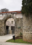 City walls in Pula. Croatia Royalty Free Stock Photos