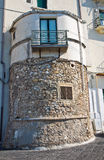 City walls. Rodi Garganico. Puglia. Italy. Stock Photography