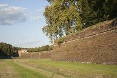 City Walls; Tuscany, Lucca Royalty Free Stock Photography
