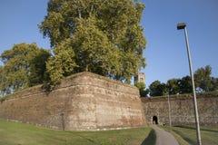 City Walls; Tuscany, Lucca Royalty Free Stock Photo
