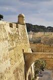 City walls in Valletta. Malta Stock Photography