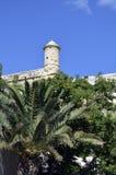 City walls in Valletta,Malta Stock Photo
