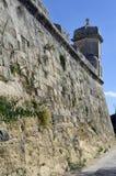 City walls in Valletta,Malta Royalty Free Stock Image