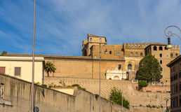 City walls of Vatican, Rome Royalty Free Stock Photography