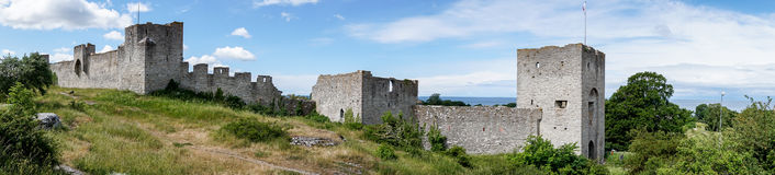 City Walls of Visby, Sweden Royalty Free Stock Image