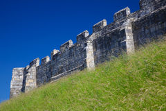 City walls of York, England Royalty Free Stock Image