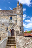 City walls of York, England Royalty Free Stock Photography