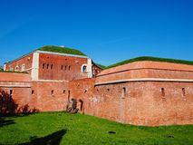 City Walls in Zamosc Royalty Free Stock Images