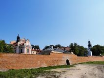 City Walls in Zamosc Stock Images